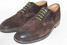 Walk Over USA Brown Roughout Suede Leather Made in USA 9 Medium D  AMAZING