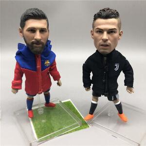 NEW Collectible Football Action Figure Toy 12 cm Footballer Dolls Messi Ronaldo
