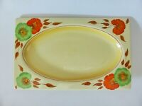 Royal Staffordshire Biarritz Tea Plate, Antique Hand Painted Pottery, Art Deco