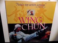 Wing Chun NEW SEALED Letterbox Laserdisc LD Michelle Yeoh
