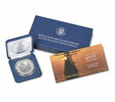 2020 P Mayflower 400th Anniversary Silver Reverse Proof Medal 20XD AC