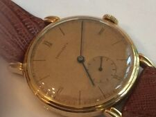 Longines solid gold 18K watch Gents