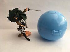 Shingeki no Kyojin Attack on Titan Levi Ackerman Mini Gashapon Gachapon Figure