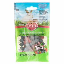Kaytee Fiesta Timothy Bits Blueberry and Strawberry Small Animal Treats 2.5oz