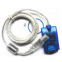 USB zu Seriell RS232 DB9 Adapter Konverter für Windows 10, 8, 7, Mac, Linux