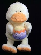Ty Pluffies Quackies The Duck Easter Egg Plush Soft Toy Yellow Stuffed Lovey