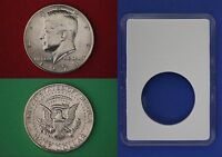 1990 D John Kennedy Half Dollar With DIY Slab from Mint Set Combined Shipping