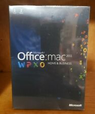 Microsoft Office Mac Home and Business 2011 - 1 User/2 Macs License - New Retail