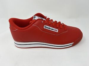 Reebok Women's Princess Classic Shoe, Techy Red/White/Black, Free Shipping!
