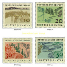 EBS Germany 1969 European Nature Conservation Year Michel 591-594 MNH**