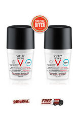 2X VICHY HOMME Deodorant Anti Transpirant 48h - ANTI-STAINS 2X50ml