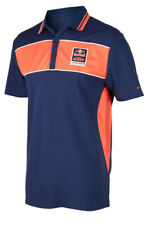 KTM RED BULL FACTORY RACING POLO SHIRT BLUE/ORANGE LOGO SHIRT XXLARGE WAS $65.00