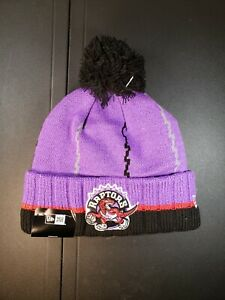New Era Toronto Raptors Hard Wood Classic Knit Beanie Cap