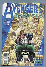 Avengers Forever #1-12 Complete Mini-Series Captain Marvel Genis-Vell Pacheco mv