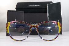 Dolce & Gabbana DG 3246 3036 New Limited Edition Sicilian Carretto on Blue 53mm