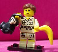 Lego Figur Sports Torwart Goalie  Sticker Adidas Nr.8 soc128s  3570