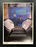 KEN KEELEY • Welcome (Empire State Building) Print • Framed