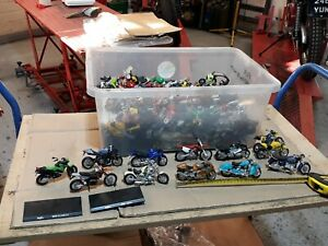 Collection of 80+ model motorcycles.