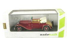 Simson Supra 18/90 Typ A (dunkelrot) D, 1931 - 1:43 AutoCult