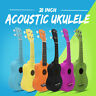 "21"" Entry-level Acoustic Guitar 4 String Ukulele Gift for Kids Music  A"