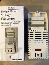Radio Shack Foreign Travel Voltage Converter #273-1412