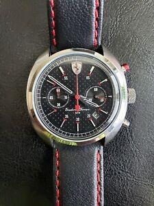 Movado Scuderia Ferrari 44mm Watch Mens Quartz Chronograph