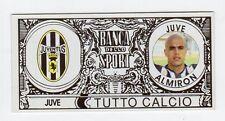 figurina BANCA DELLO SPORT TUTTO CALCIO 2007/2008 JUVENTUS ALMIRON