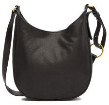 $298 Frye Madison Women's Leather Crossbody Shoulder Bag in BLACK DB810