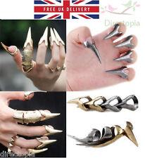 Uñas Uña Anillo Dragon Claw Talon declaración Alta Moda Rock Punk Kawaii