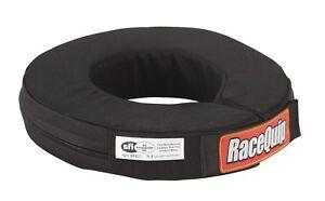 Racequip Black Neck Brace Helmet Support 337007 SFI Rated 360 IMCA USRA Race