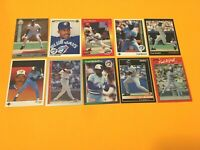 Fred McGriff 10 Card Lot  Fleer Ultra Donruss San Diego Padres Toronto Blue Jays