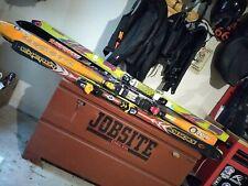 skis with bindings 190cm