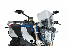 PUIG SAUTE VENT NAKED N.G. BMW F800 R 2017 TRANSPARENT VERSION SPORT