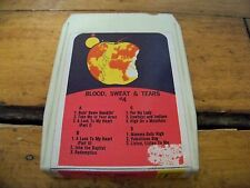 BLOOD, SWEAT & TEARS #4 8 TRACK TAPE TESTED