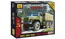 ZVEZDA 7417 - 1/100 WARGAME ADDON SOVIET ARMY TRUCK URAL 4320 - NEU