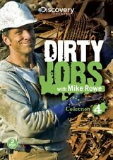 DIRTY JOBS WITH MIKE ROWE COLLECTION 4 New Sealed 3 DVD