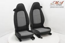 """Sitzbezüge Teilleder """"2-in-1"""" [passend für Smart Fortwo 451 o. Airbag]"""