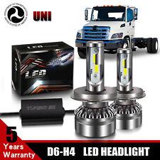 H4 9003 LED Headlight Light Bulb Conversion Kit for Hino 145 165 185 258 268 338
