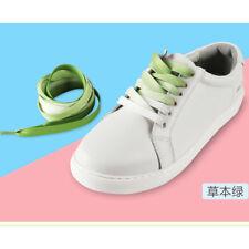 1Pair Shoelaces Candy Color Gradient Flat Sneaker Bootlace Shoe Laces Strings