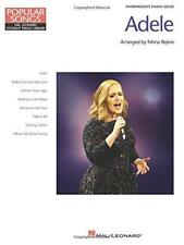 Hlspl Popular Songs Adele (Arr Rejino Mona) Intermediate Piano Solo Bk (Popular