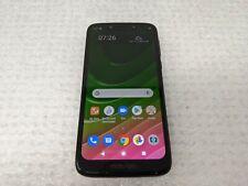 Motorola Moto G7 Play  XT1952dl TracFone Clean ESN Black Used