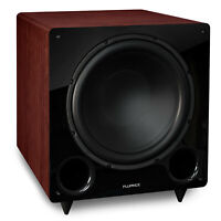 Fluance DB12MA 12-inch Low Frequency Front Firing Powered Subwoofer Home Theater