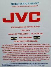 JVC LT-40C540 LSC400HN01 LED40D11-ZC14-03 (a) o (b) 10 piezas Kit de reparación ver añadir