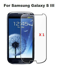 Clear Premium Tempered Glass HD Screen Protector Samsung Galaxy S3 SGH-I747M