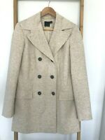 ASOS Tall  Womens Coat Jacket ( Size 10 ) Beige