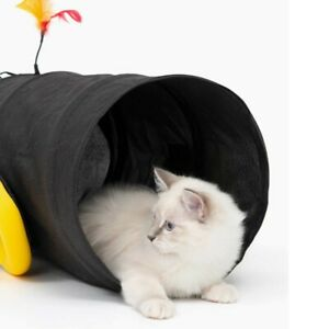 """Catit Play Pirates Cannon Cat Tunnel - Brand New - 11"""" x 19.7"""""""