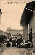 CPA FOURNOLS La Grande Rue (461025)