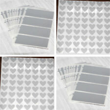 Sheet Silver Adhesive Scratch Off Labels Stickers Rectangle Games Cards Tickets
