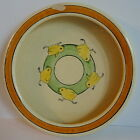Roseville Pottery Company Juvenile Line Chicks Rolled Rim Baby's Dish c.1916-35