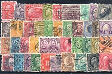 Old stamps of USA used collection